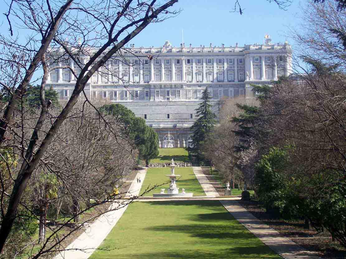 PalazzoReale Da Jardines De Sabatini E Da Campo Del Moro #206AAB 1111 833 Sala Da Pranzo Ottocento